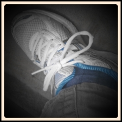 Picture of running shoe